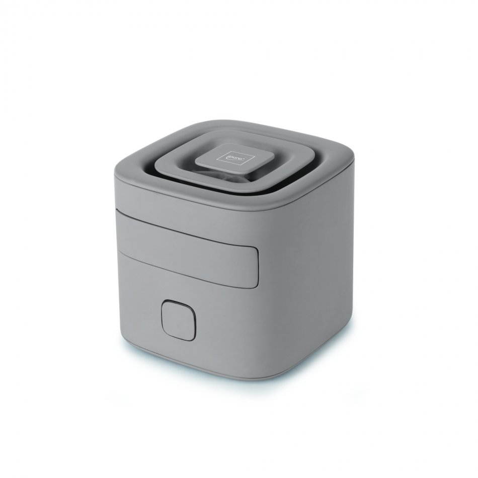 IPU0391cube taupeelectric room diffuser