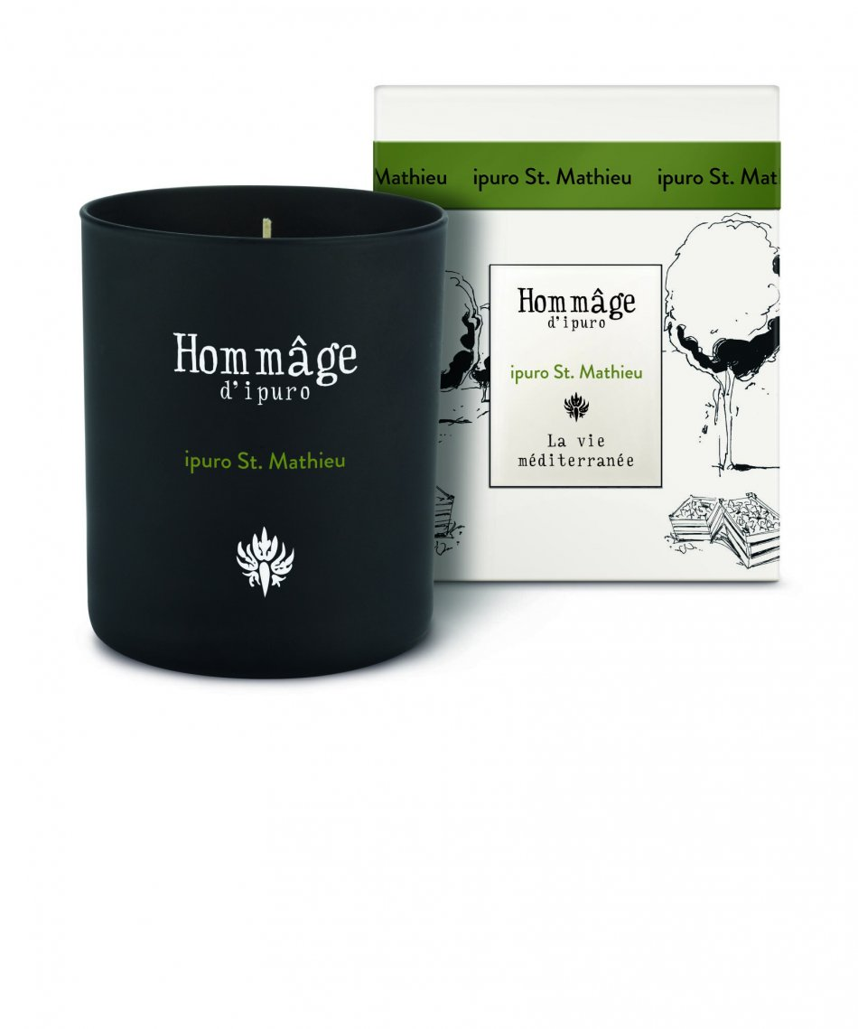 IPU0370St. Mathieuscented candle
