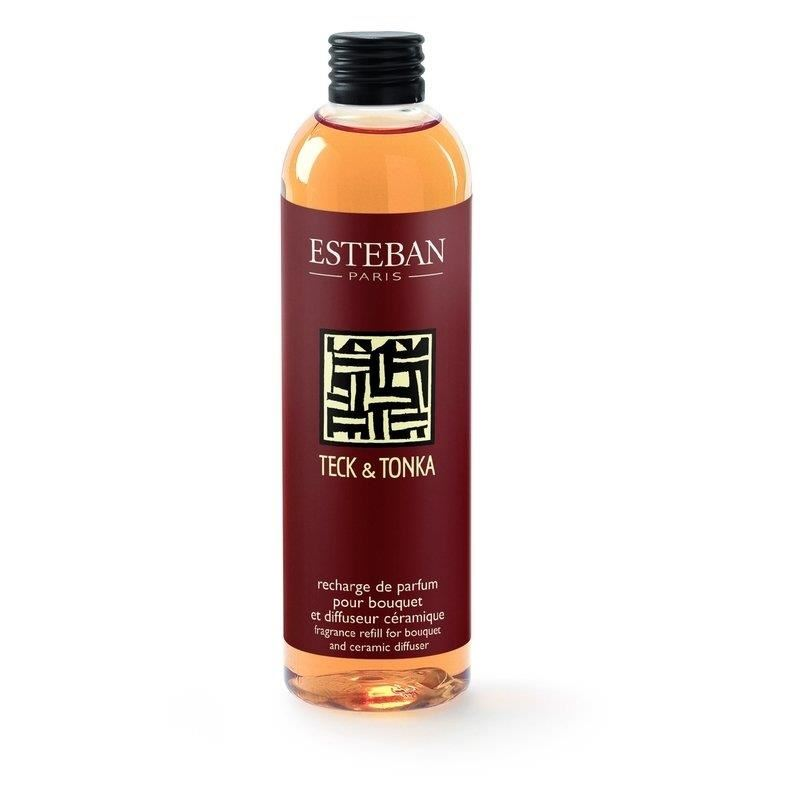 Rezerva Parfum pentru Buchet Parfumat Teck&Tonkac250ml - Esteban Paris