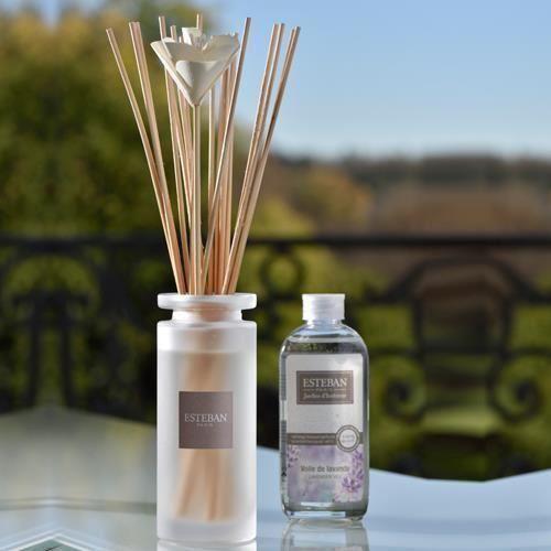 Buchet Parfumat Lavander cu Rezerva de 75ml - Esteban Paris