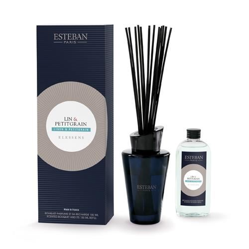 Buchet Parfumat Linen&Petitgrain 150ml - Esteban Paris
