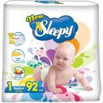 Scutece New Sleepy Jumbo 1 Newborn (2-5kg) 92 (4)