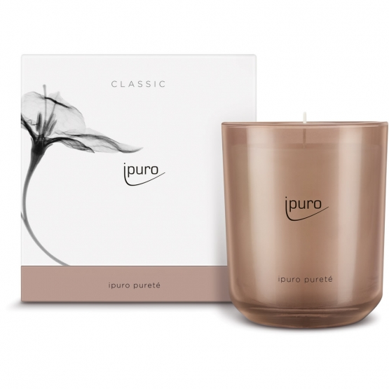 ipuro Classic pureté Duftkerze  270g *Limitiert
