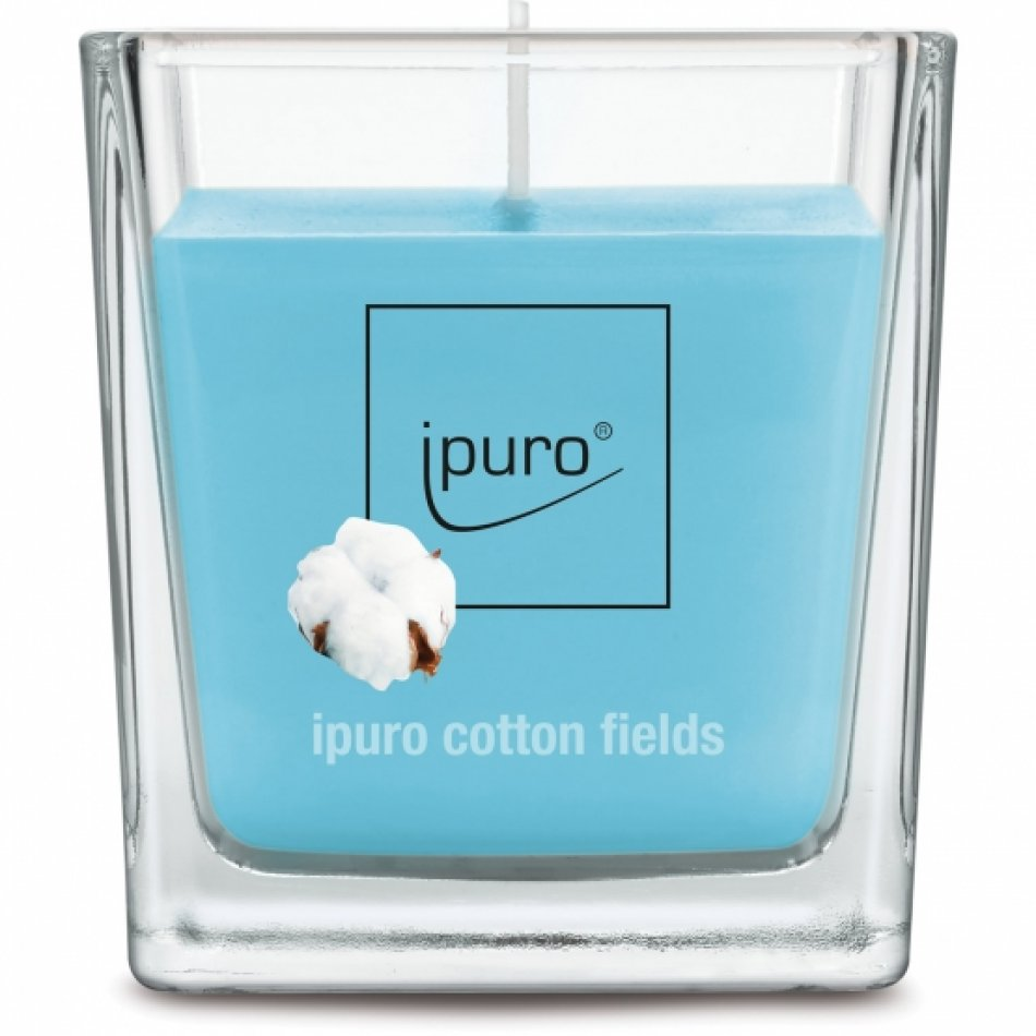 ipuro Essentials cotton fields lumanare 125g