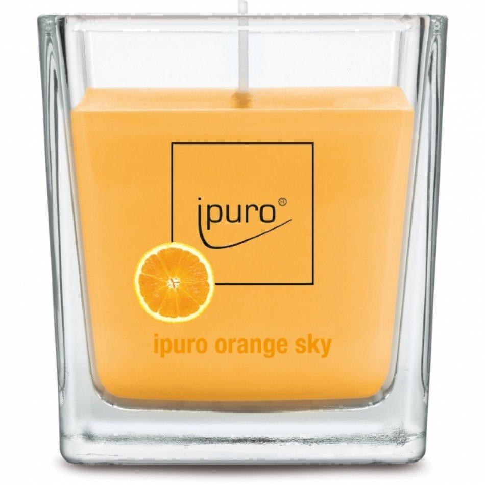 ipuro Essentials orange sky lumanare 125g