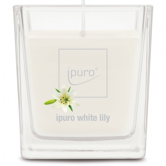 ipuro Essentials white lily lumanare 125g