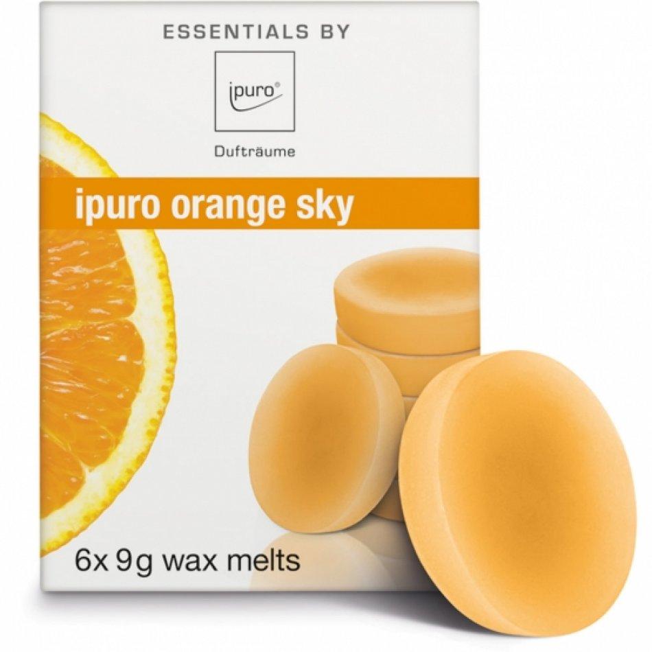 wax melts orange sky
