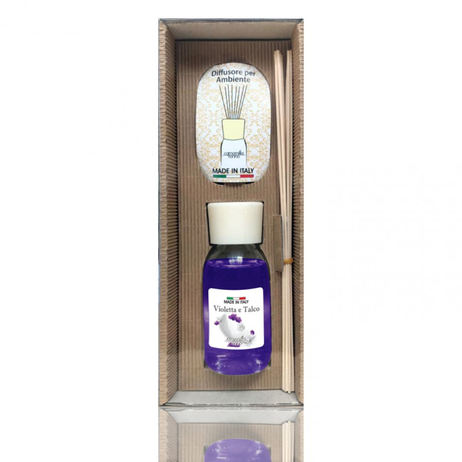 Parfum camera violet and talc