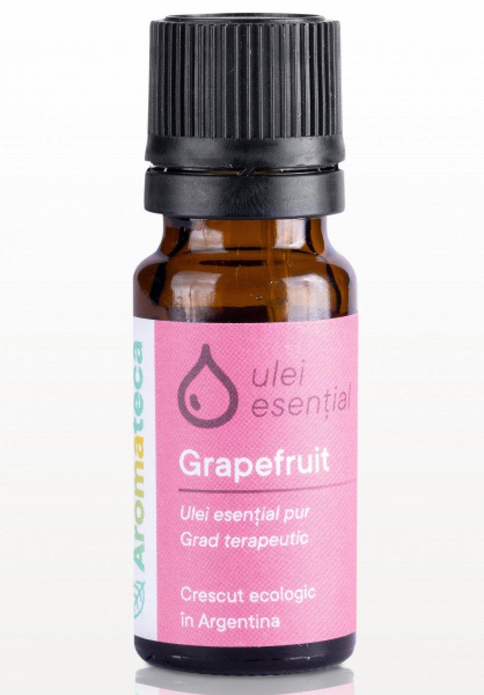 Ulei esential de grapefruit 10 ml Aromateca