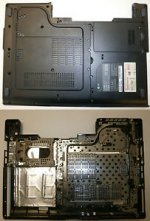 Bottom case MSI MS-163K / E2P-632D22X-H76