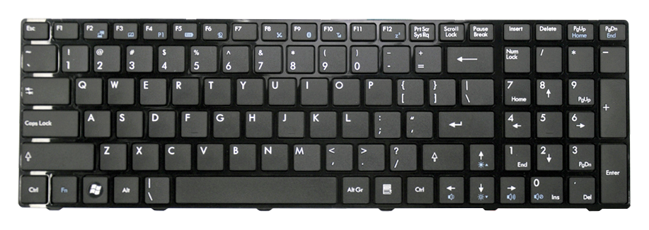 Tastatura laptop MSI CR620 CR630 CX623 FX700 GX680  CX620