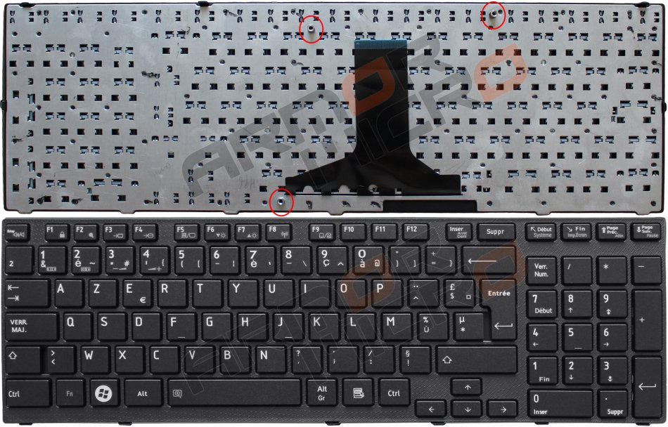 Tastatura Toshiba Satellite P750 P770  MP10N86F066981  PK130IU2C15