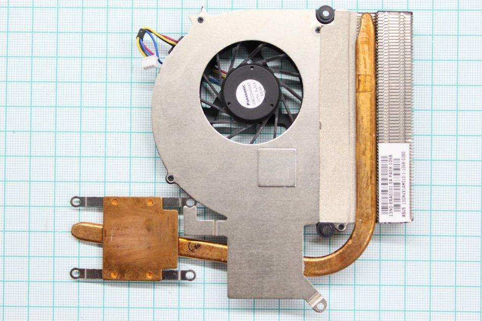 Ventilator  radiator (heatsink) Asus K50AD X5DIJ K50IJ  13n0era0101  UDQFZZH32DAS