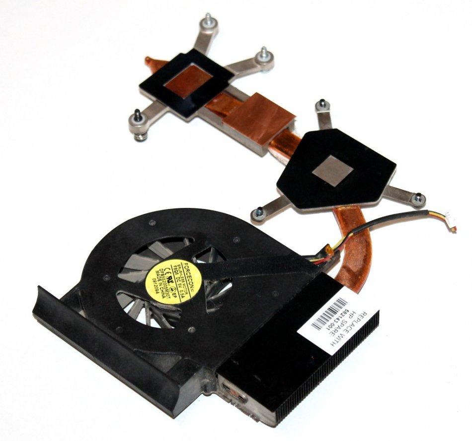 Radiator   Ventilator HP Compaq CQ61 series  CQ60 series  DFB552005M30TF8Q6  582143001