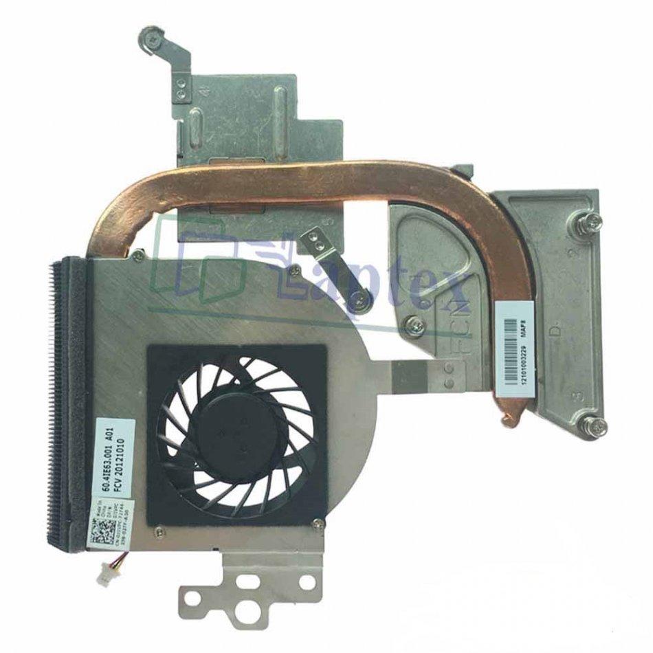Ventilator  radiator (heatsink) Dell N5110  60.4IE63.001  0J1VPC  DFS501105FQ0T  23.10557.001 A01