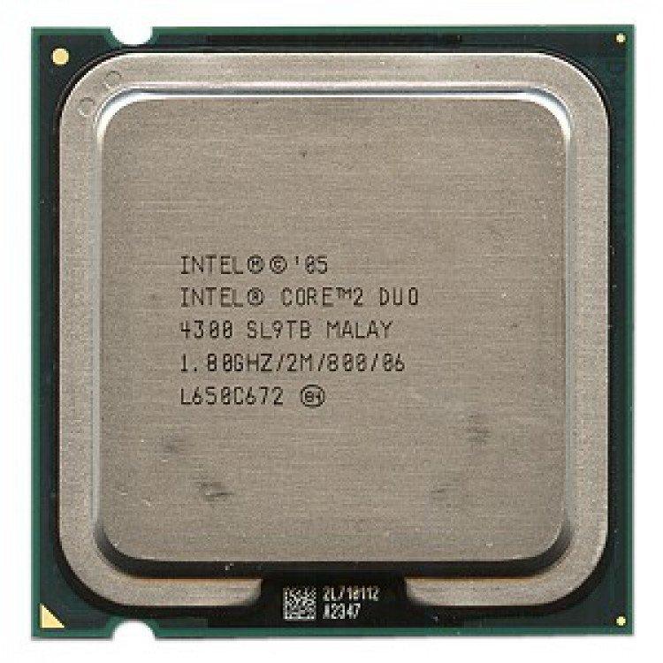Procesor calculator Intel Core2Duo E4300