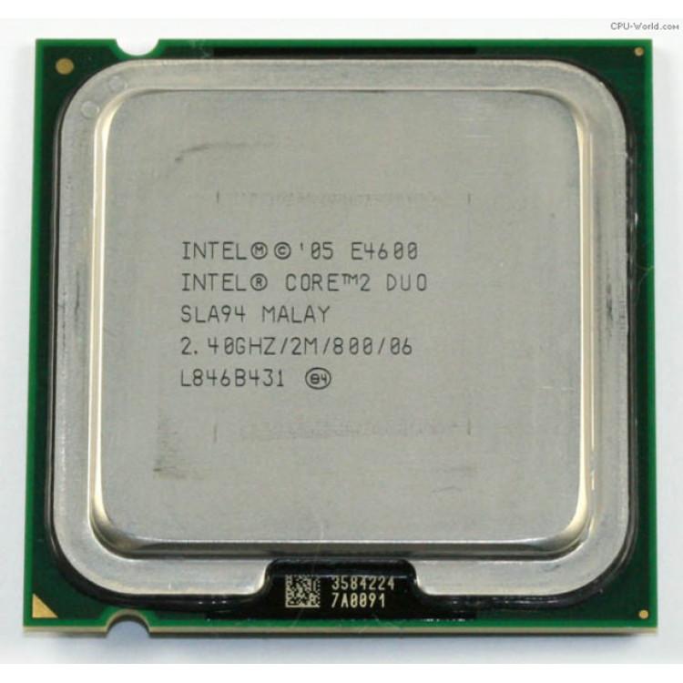 Procesor calculator Intel Core2Duo E4600