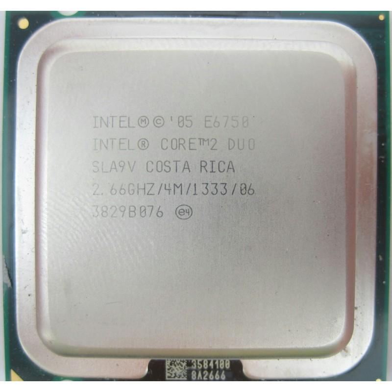 Procesor calculator Intel Core2Duo E6750
