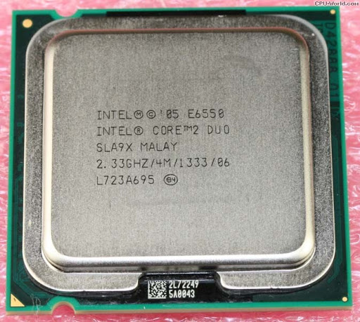 Procesor calculator Intel Core2Duo E6550