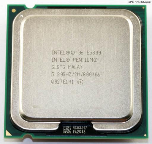 Procesor calculator Intel Dual Core E5800