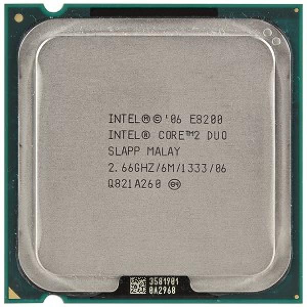 Procesor calculator Intel Core2Duo E8200