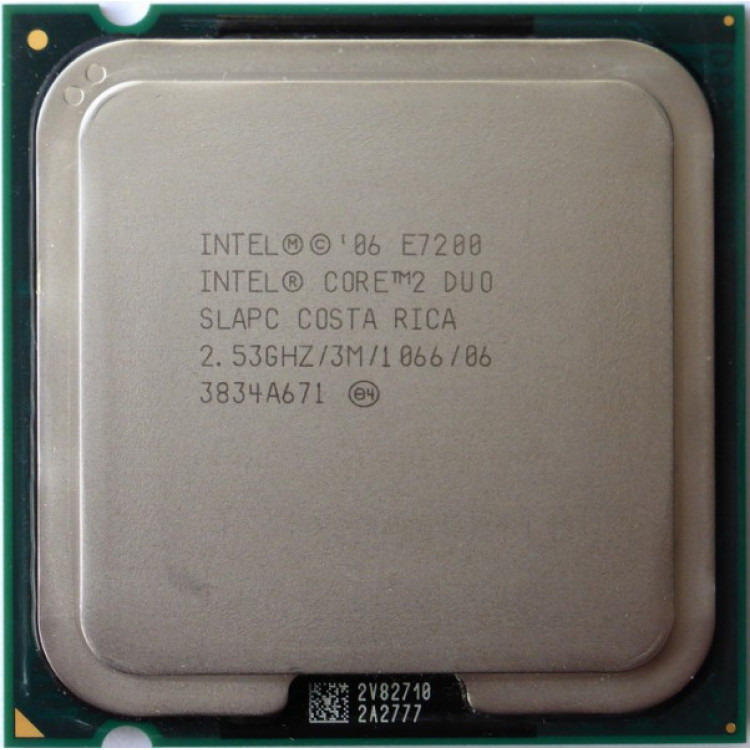 Procesor calculator Intel Core2Duo E7200