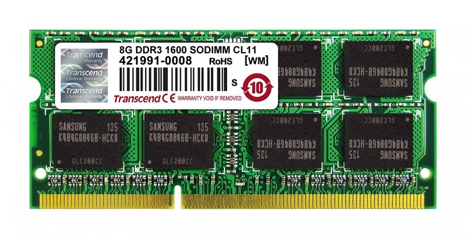 memorie ram laptop 8gb ddr3l second hand
