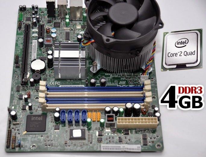 Kit placa Acer G43D01G1  Procesor Intel E3400  cooler procesor