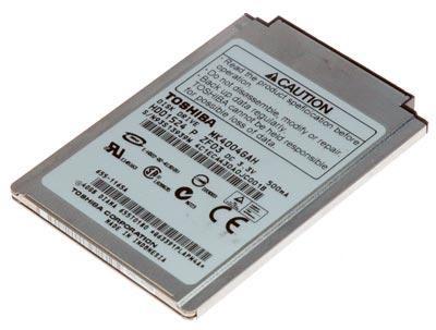 Hard disk laptop 40GB ZIF Toshiba  4200rpm  MK4004GAH