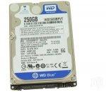 Hard disk laptop second hand SATA 250 GB - 5400 RPM