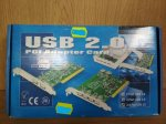Adaptor USB 2.0 PCI - Card & Hub 2+4 porturi