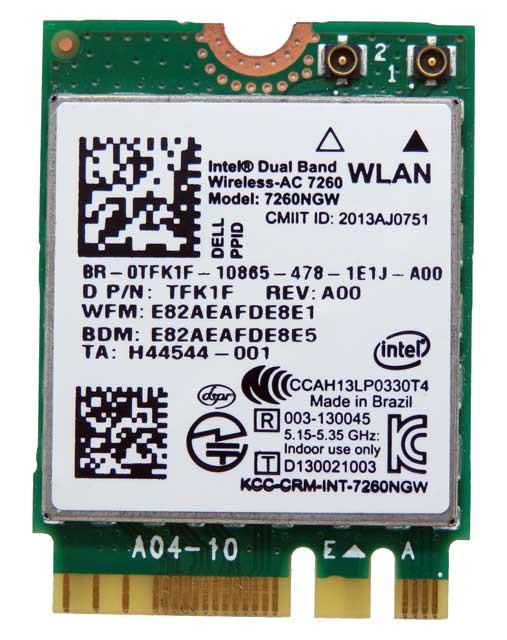 Modul Wifi laptop Intel Dual Band WirelessAC 7260  7260NGW