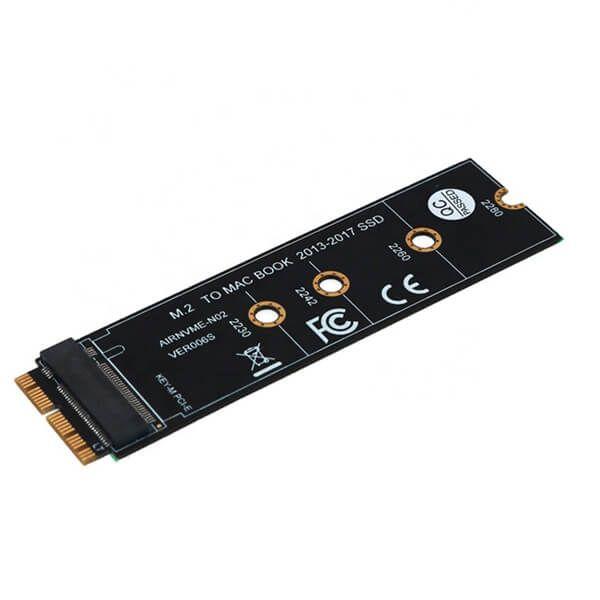 Adaptor SSD M.2 NVMEAHCI   Apple Macbook Air PRO Retina A1465 A1466 A1398 A1502 20132017