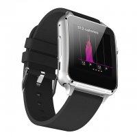 Ceas smartwatch Aipker  M88-ecran curbat,cartela SIM-1.54 inch HD touchscreen -silver