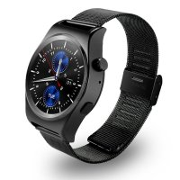 Ceas smartwatch Aipker X10 -waterproof-ritm cardiac-1.3 inch HD touchscreen-black