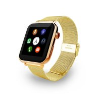 Ceas Smartwatch  A9 gold metalic-ritm cardiac- 1,54 HD touchscreen-gold