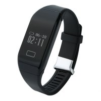 Bratara fitness bluetooth H3-waterproof- ritm cardiac-black