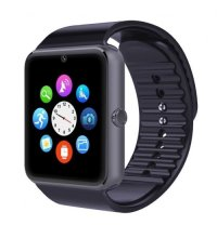 Ceas smartwatch  PLUS-cartela SIM,camera,TF card-1,54 HD touchscreen-black