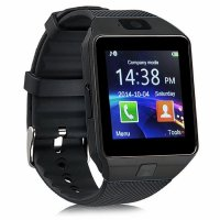 Ceas smartwatch  DZ09 PLUS-cartela SIM,camera,TF card-1.56 inch HD touchscreen-black