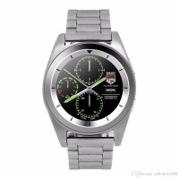 Ceas smartwatch G6 -ritm cardiac-1.3 inch HD touchscreen-silver