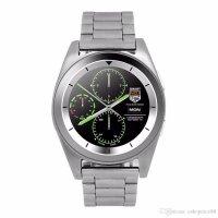 Ceas smartwatch G6 -ritm cardiac-1.3 inch HD touchscreen-silver