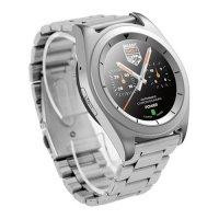 Smartwatch G6 bratara din metal ritm cardiacusmart