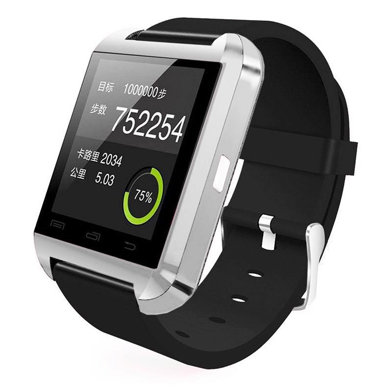 smartwatch u8 silver