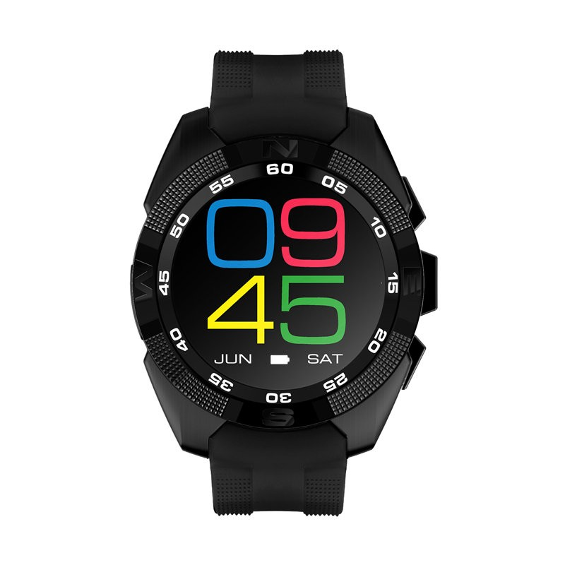Smartwatch g6 black ritm cardiac