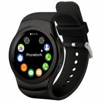 Ceas smartwatch  G3-cartela SIM-ritm cardiac,SIRI-1.3 inch HD touchscreen-black