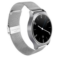 Smartwatch gw01metalsilverritm cardiac