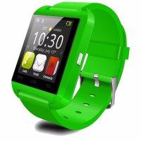 Ceas smartwatch  bluetooth U8-1.44 inch -verde