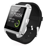 Ceas smartwatch  bluetooth U8-1.44 inch -silver