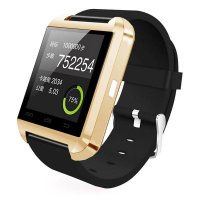 Ceas smartwatch  bluetooth U8-1.44 inch -gold