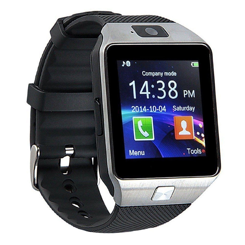 smartwatch dz09 silver
